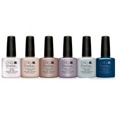 CND Shellac - Glacial Illusion Collection 6 x 7.3ml
